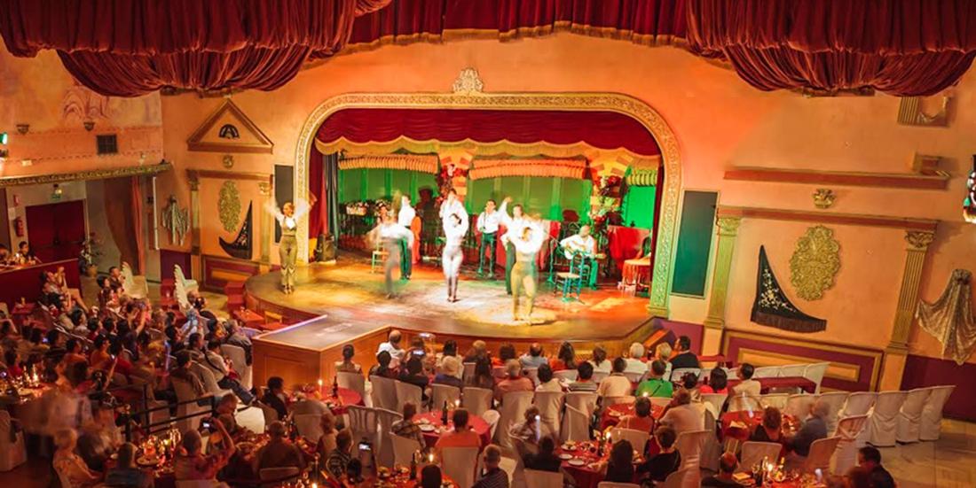 Sevilla flamenco show with food