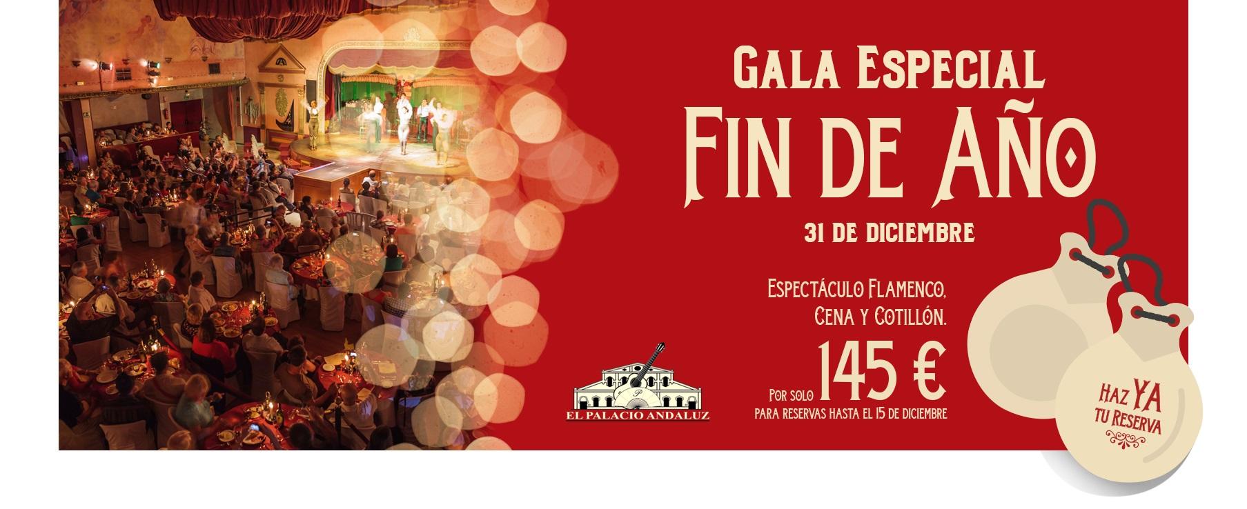 Gala Especial Nochevieja en Sevilla