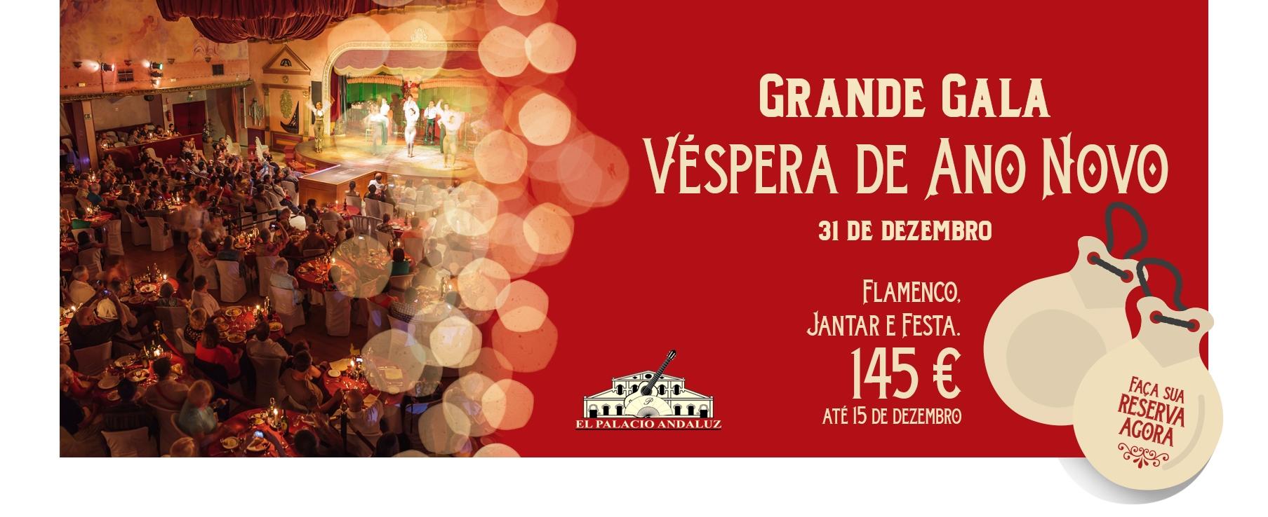 Grande Gala Vespera Ano Novo Sevilla