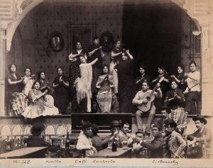 Cafes singers origin tablao flamenco