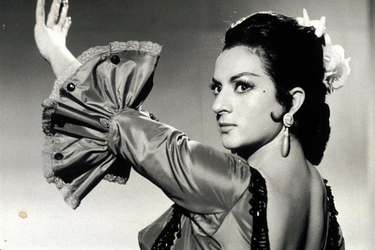 Lola Flores fue un referente del flamenco.