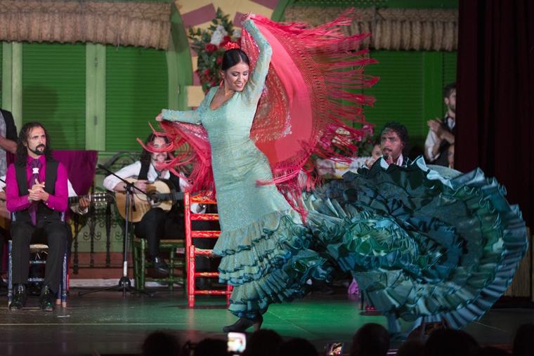Mejor espectáculo flamenco en Sevilla en el tablao El Palacio Andaluz