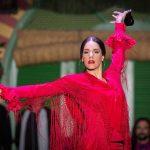 Uso de las castañuelas en el flamenco