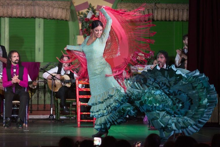 flamenco dancer of El Palacio Andaluz