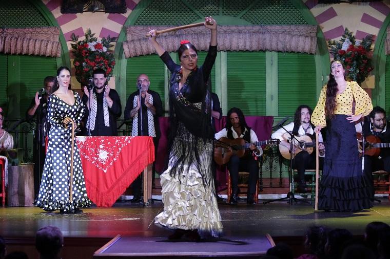 show flamenco en sevilla con cena