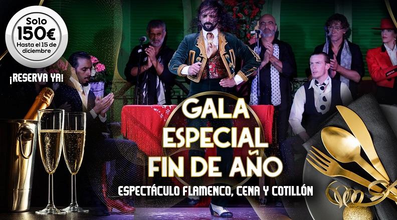Fiesta de nochevieja en Sevilla