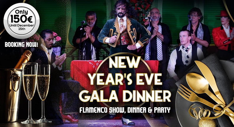 new years eve gala dinner and flamenco in seville