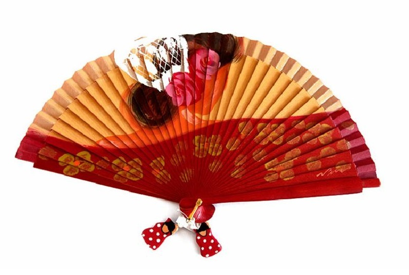 The fan a complement for flamenco dancing
