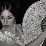 Macarena Cortés, flamenco dancer in Seville