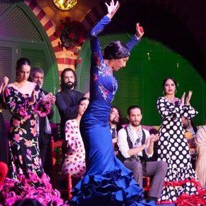 spectacle de flamenco et tapas a seville