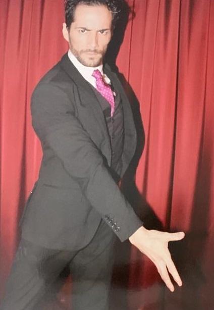 Antonio Vázquez is a sevillian flamenco dancer