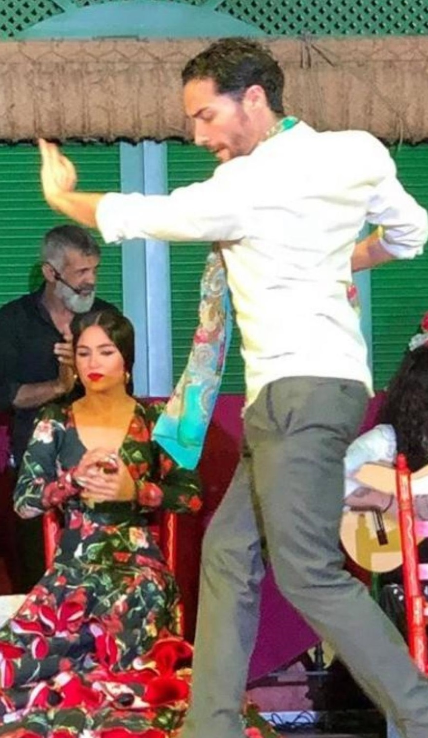 Bailaor de flamenco Antonio Vázquez