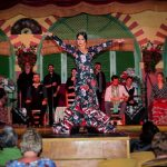 Soleá de José es una de las bailaoras de flamenco de El Palacio Andaluz de Sevilla
