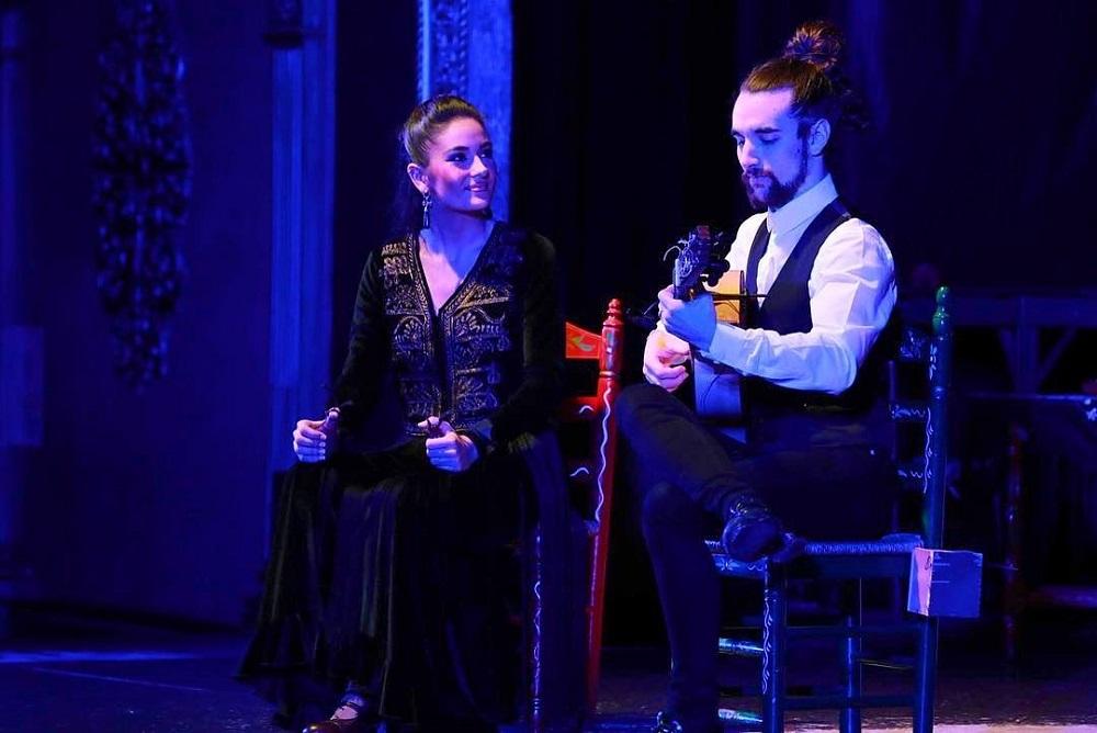 Solea de José, artista de baile flamenco
