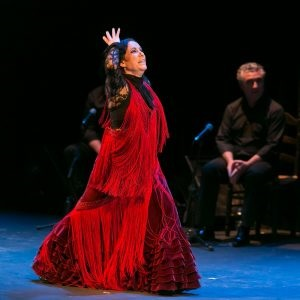 Eva Yerbabuena, a flamenco dancer