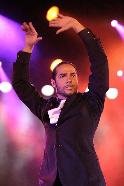 Flamenco dancer Joaquín Cortés