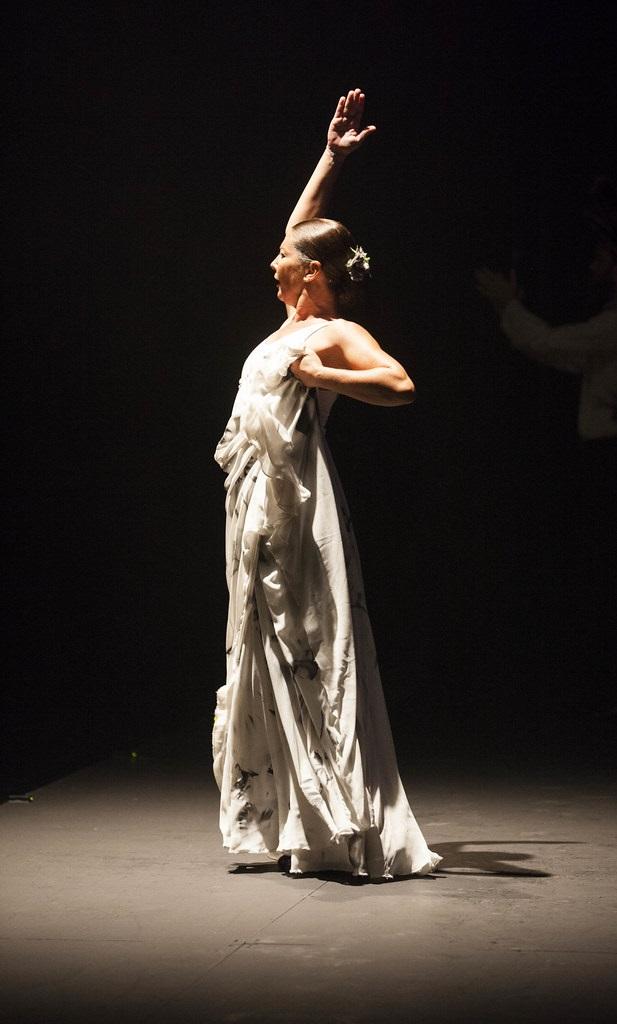 Flamenco dancer Sara Baras
