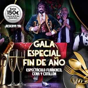 Gala Especial Fin de Año en Sevilla