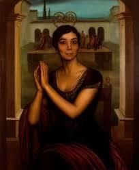Picture of 'La Niña de los Peines' by Julio Romero de Torres.
