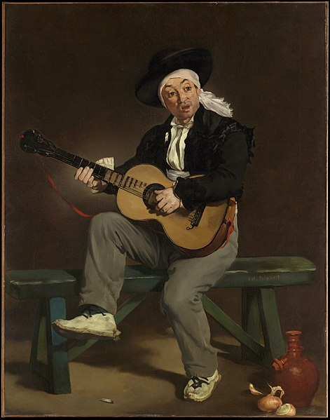 'The Spanish singer' is a picture of Manet