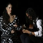 The flamenco guitar touch