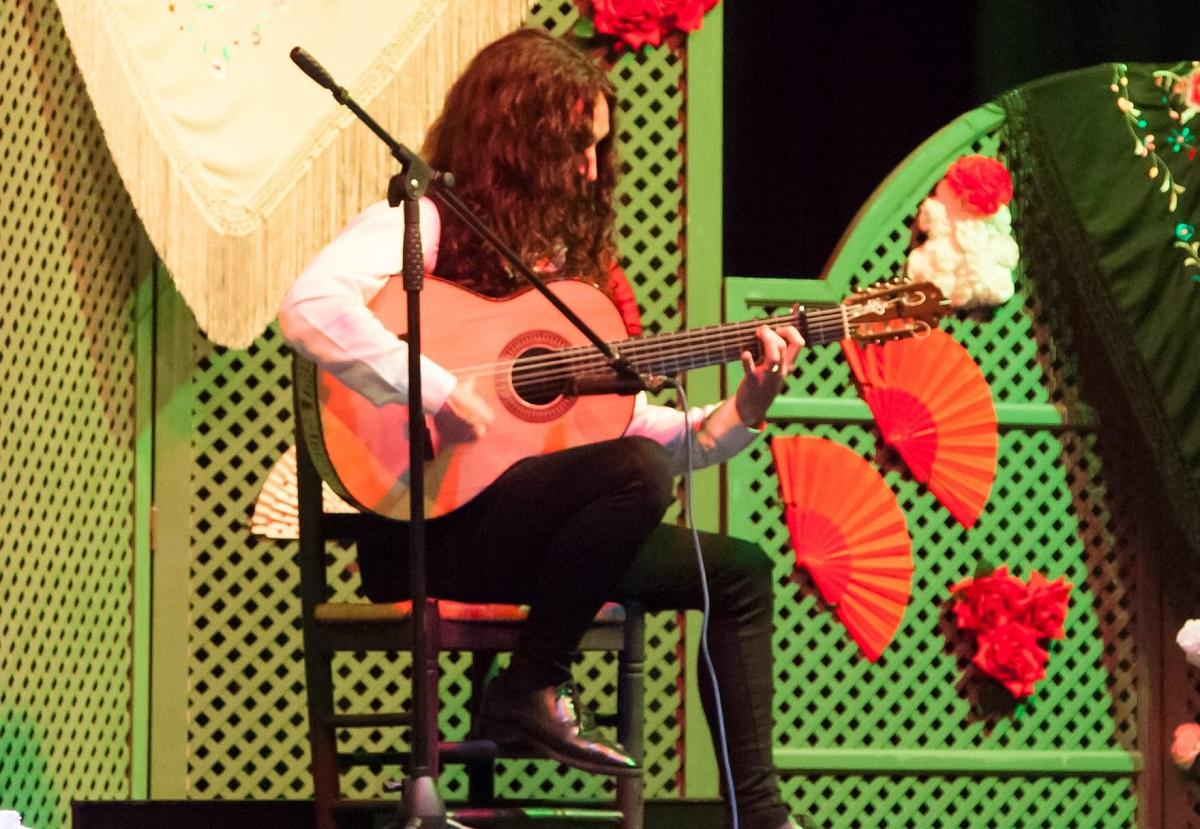 flamenco guitar touch technique