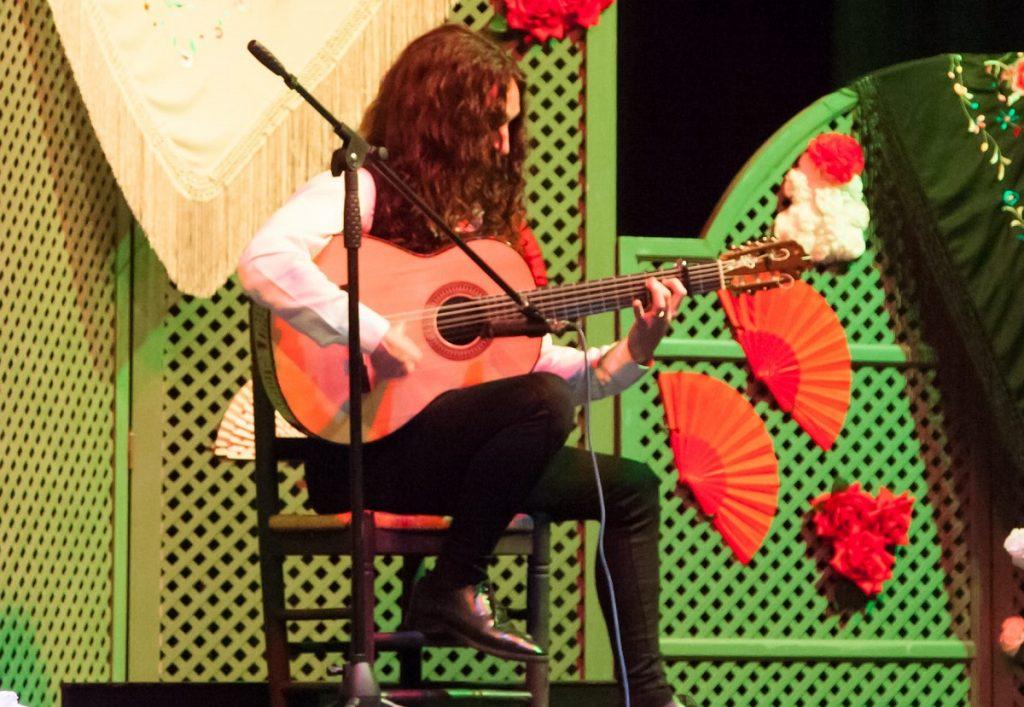 tecnica del toque de guitarra flamenca