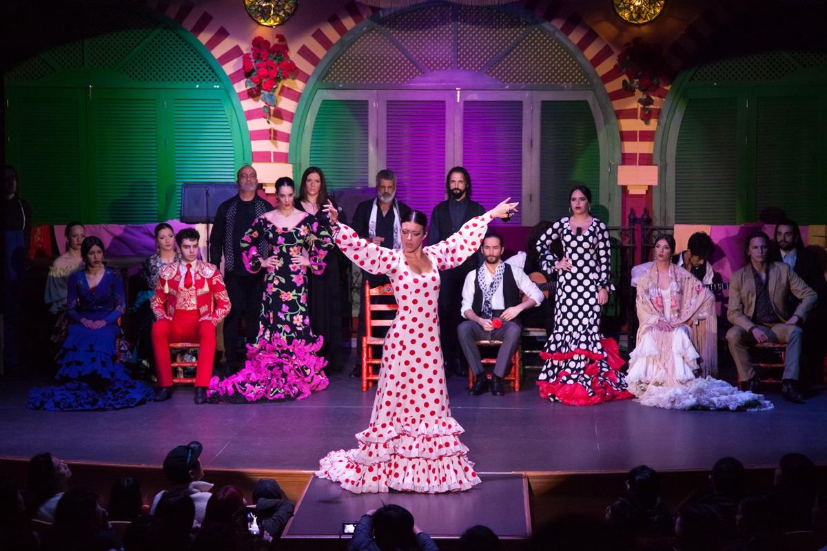 enjoy a flamenco show in a tablao in sevile
