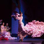 La bata de cola flamenca