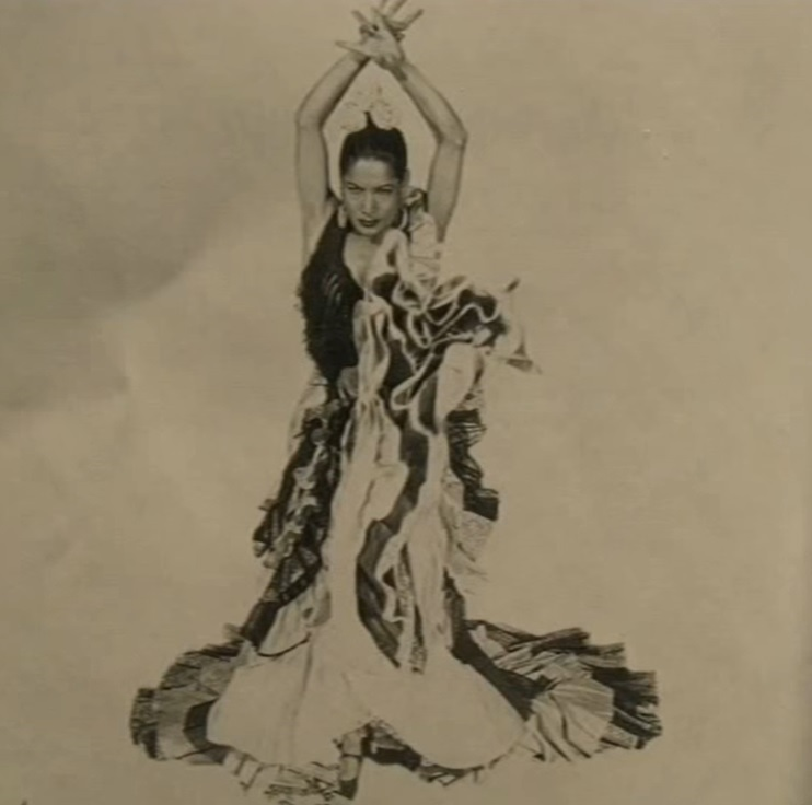 carmen amaya, flamenco dancer