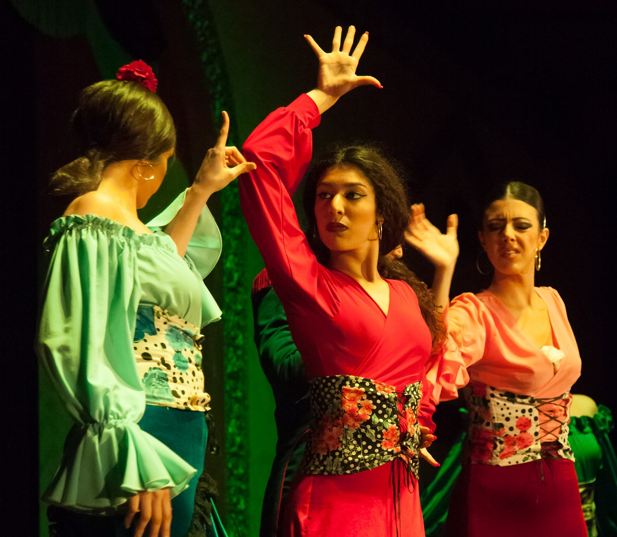 Ana Oropesa is a flamenco dancer in Seville