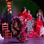 Ana Oropesa es bailaora de flamenco en el palacio andaluz