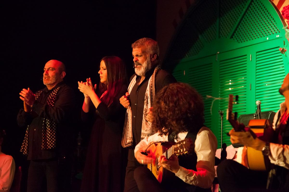 cante flamenco en el palacio andaluz
