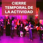 Comunicado oficial: El Palacio Andaluz cierra temporalmente su actividad