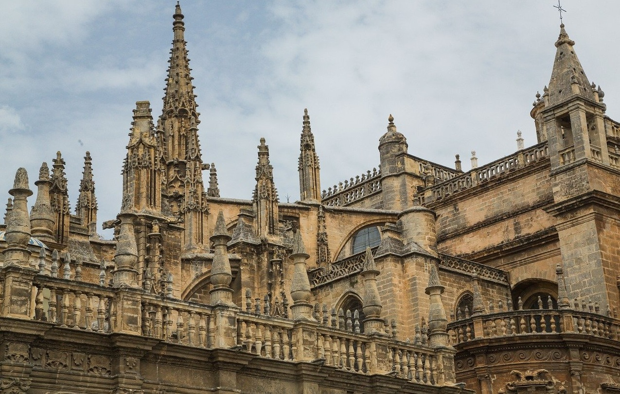 Catedral gótica cristiana más grande del mundo, la catedral de Sevilla