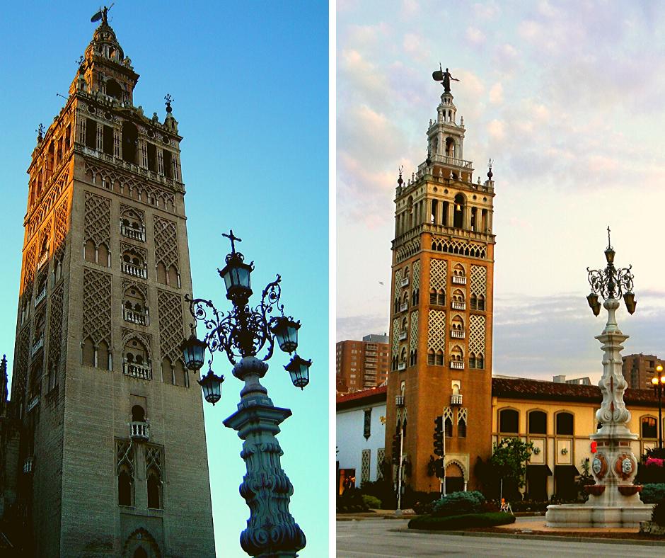 La Giralda de Sevilla tiene réplicas